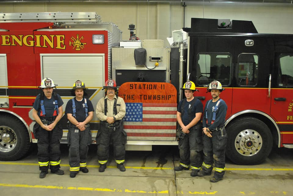 Big Rapids Fire Department Members